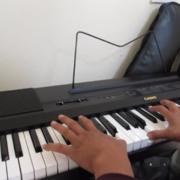 音楽の時間 ピアノレッスン2