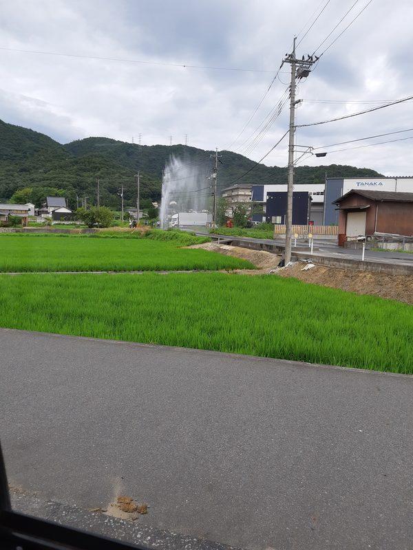 水道管破裂